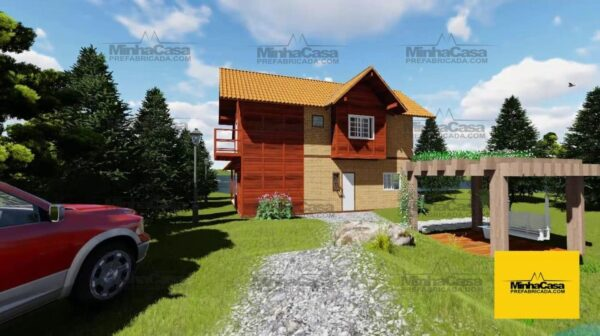 Minha casa pré fabricada modelo Curitiba 04