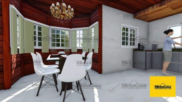 Minha casa pré fabricada modelo Curitiba 07