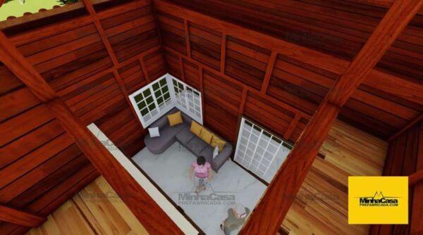Minha casa pré fabricada modelo Curitiba 09