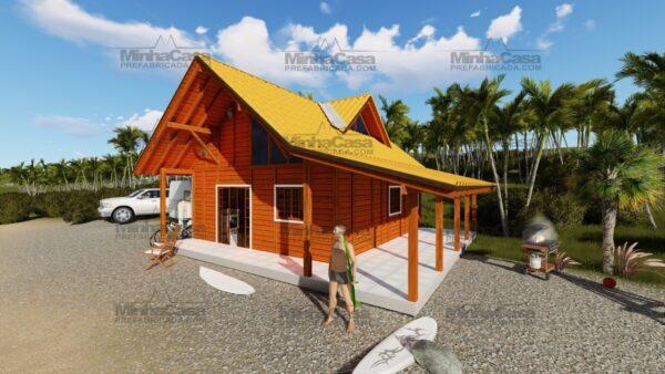 Minha casa pré fabricada modelo Curitibanos 01