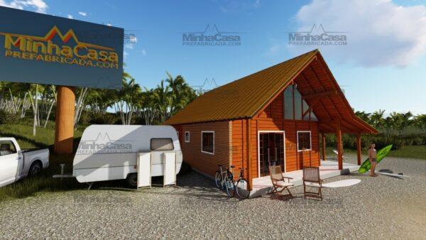 Minha casa pré fabricada modelo Curitibanos 03