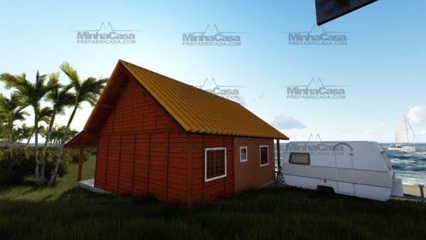 Minha casa pré fabricada modelo Curitibanos 04