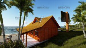 Minha casa pré fabricada modelo Curitibanos 05