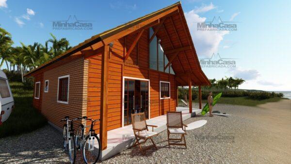 Minha casa pré fabricada modelo Curitibanos 10