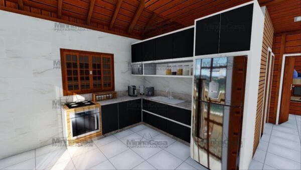 Minha casa pré fabricada modelo Curitibanos 11