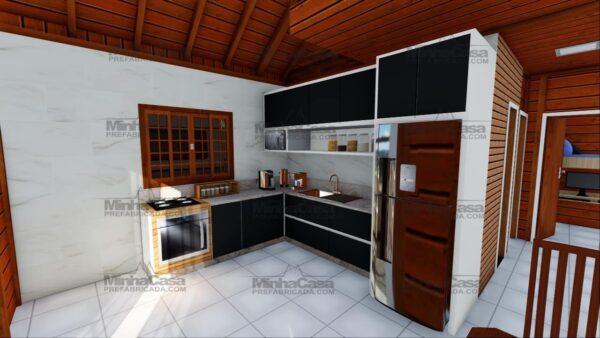 Minha casa pré fabricada modelo Curitibanos 12