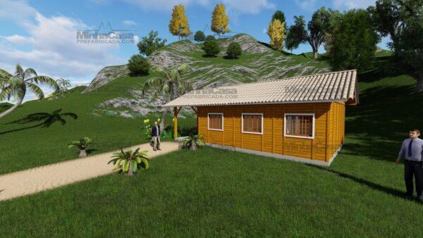 Minha casa pré fabricada modelo Floripa I 02