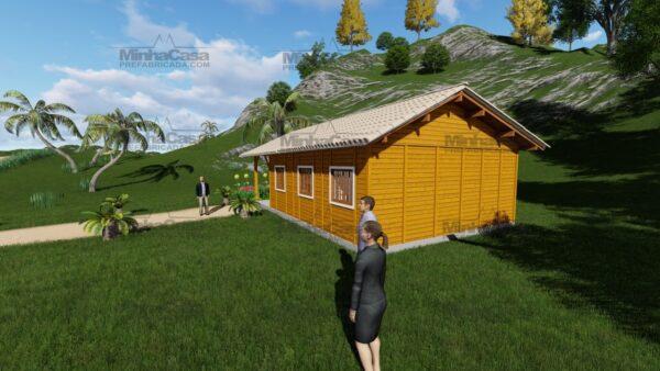 Minha casa pré fabricada modelo Floripa I 03