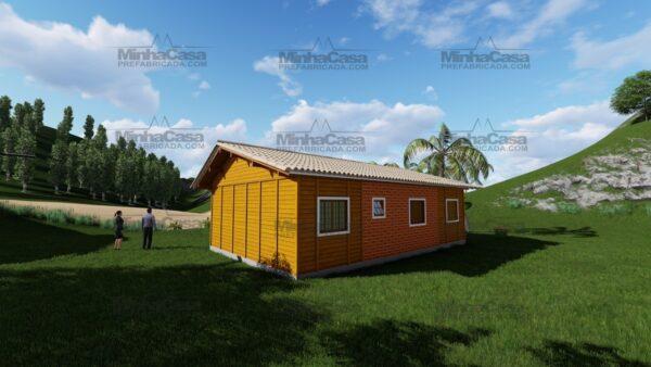 Minha casa pré fabricada modelo Floripa I 04