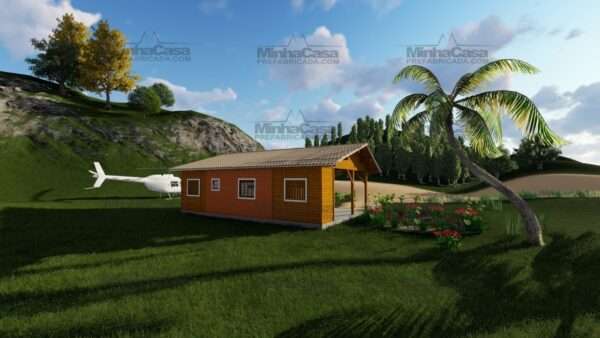 Minha casa pré fabricada modelo Floripa I 05