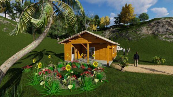 Minha casa pré fabricada modelo Floripa I 06