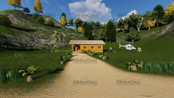 Minha casa pré fabricada modelo Floripa I 07