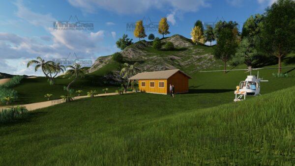 Minha casa pré fabricada modelo Floripa I 08