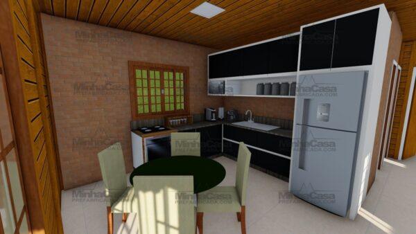 Minha casa pré fabricada modelo Floripa I 09
