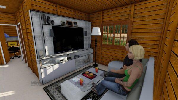 Minha casa pré fabricada modelo Floripa I 11