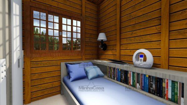 Minha casa pré fabricada modelo Floripa I 13