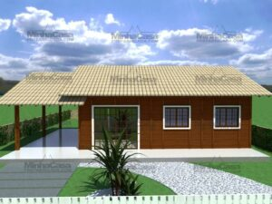 Minha casa pré fabricada modelo Floripa II 01