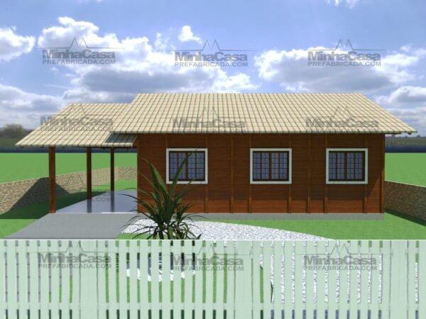 Minha casa pré fabricada modelo Floripa II 02