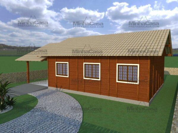 Minha casa pré fabricada modelo Floripa II 03