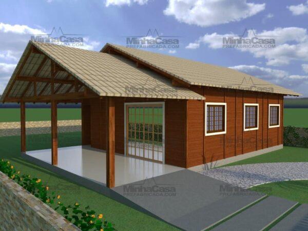 Minha casa pré fabricada modelo Floripa II 04