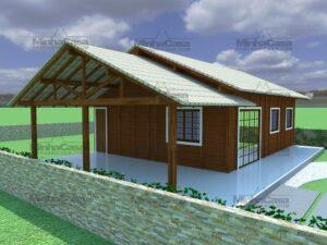 Minha casa pré fabricada modelo Floripa II 05
