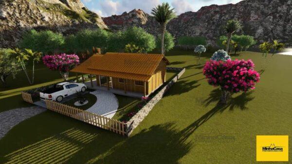 Minha casa pré fabricada modelo Floripa III 02