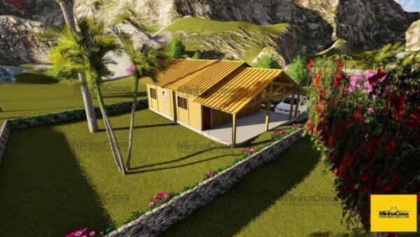 Minha casa pré fabricada modelo Floripa III 03