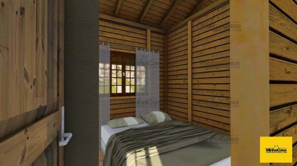 Minha casa pré fabricada modelo Floripa III 05