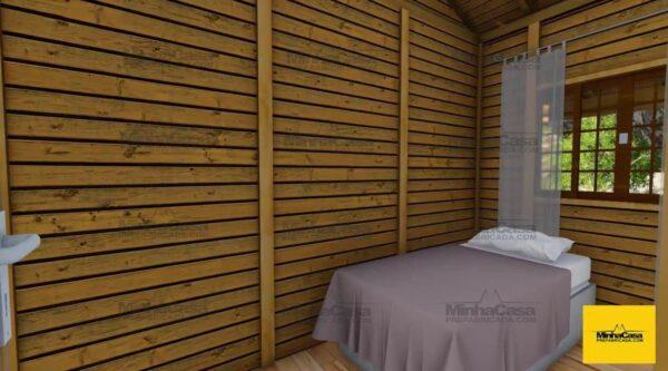 Minha casa pré fabricada modelo Floripa III 06