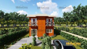 Minha casa pré fabricada modelo Gaspar 01