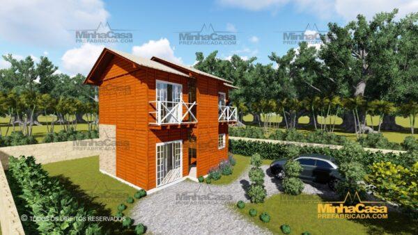 Minha casa pré fabricada modelo Gaspar 03