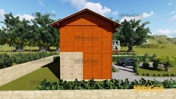 Minha casa pré fabricada modelo Gaspar 04