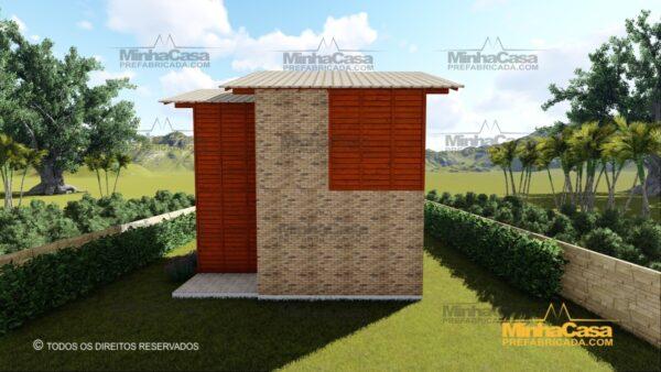 Minha casa pré fabricada modelo Gaspar 06