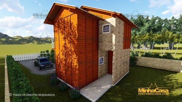 Minha casa pré fabricada modelo Gaspar 07