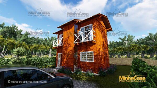 Minha casa pré fabricada modelo Gaspar 09