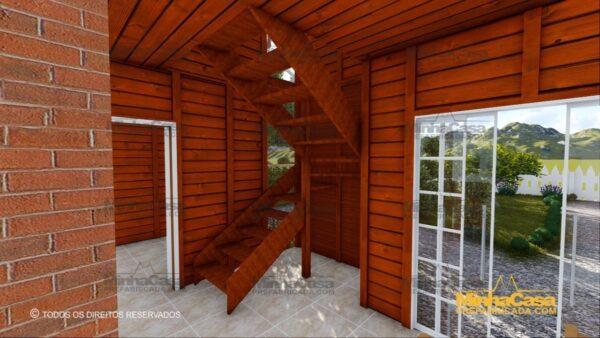 Minha casa pré fabricada modelo Gaspar 13