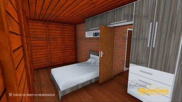 Minha casa pré fabricada modelo Gaspar 17