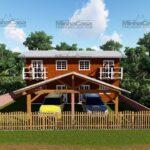 Minha casa pré fabricada modelo Geminado 01