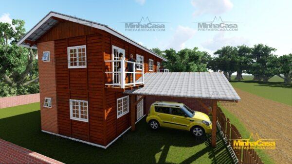 Minha casa pré fabricada modelo Geminado 03