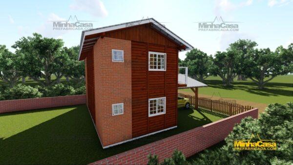 Minha casa pré fabricada modelo Geminado 04