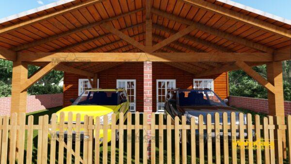 Minha casa pré fabricada modelo Geminado 09