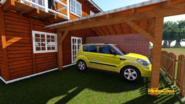 Minha casa pré fabricada modelo Geminado 10