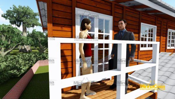 Minha casa pré fabricada modelo Geminado 11