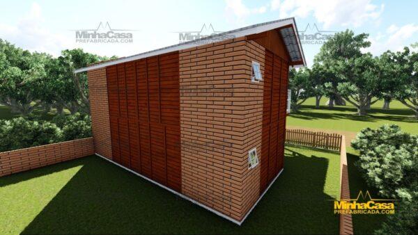 Minha casa pré fabricada modelo Geminado 17