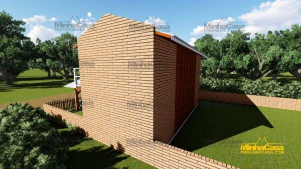 Minha casa pré fabricada modelo Geminado 18