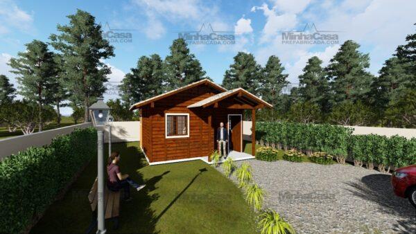 Minha casa pré fabricada modelo Ilhota 01