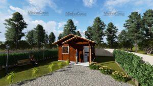 Minha casa pré fabricada modelo Ilhota 02
