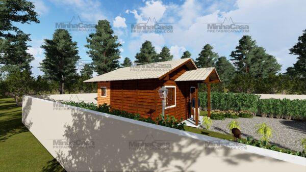 Minha casa pré fabricada modelo Ilhota 03