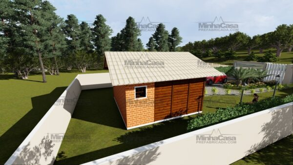 Minha casa pré fabricada modelo Ilhota 04