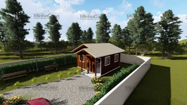 Minha casa pré fabricada modelo Ilhota 06